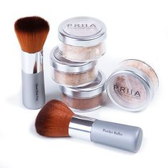 Essential Cover Loose Mineral Foundation: Best Mineral Makeup and Natural Cosmetics by PRIIA Cosmetics