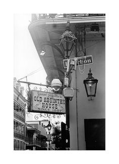 Old Absinthe House, New Orleans. by bookminx on etsy