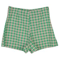 Stylenanda Women's Flower Print Checkered High-Waist Shorts ($35) ❤ liked on Polyvore featuring shorts, bottoms, short, high-waisted shorts, flower print shorts, high rise shorts, short shorts and floral print shorts