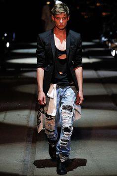 Wilhelmina Models: Janis Ancens for Philipp Plein, MFW S/S '16 - See more at: wilhelminanews.com