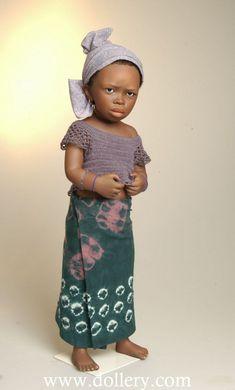 Djeneba...Dolls by Bets & Amy Van Boxel