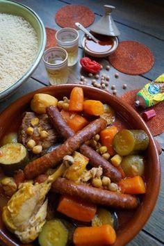 couscous royal marocain receta popote recetas africanas y recetas saludables. Black Bedroom Furniture Sets. Home Design Ideas