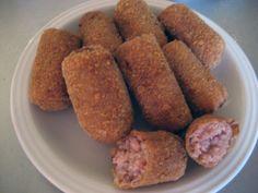 Cuban in the Midwest: Croquetas de Jamon: Ham Croquettes