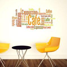 Adesivo de Parede Café II