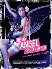 Famke Janssen - Be an Angel for Animals Ad