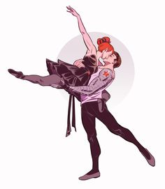 WinterWidow ballet AU                                                                                                                                                                                 More