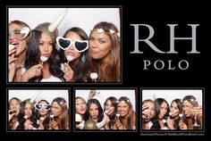 Photo Booth Keleina and friends RH Polo cocktail reception at the Santa Barbara Polo & Racquet Club. Read more: http://www.madmochiphotobooth.com/mad-mochi-photo-booth-blog/rh-polo-in-all-white #rhpolo #photobooth #allwhiteparty