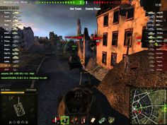 World of Tanks T28Prototype Ruinberg on fire battle