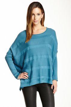 Shadow Stripe Pullover