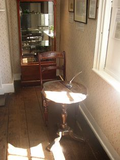 jane austen's writing desk