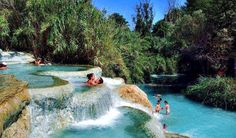 The Natural Jacuzzi of Saturnia, Tuscany