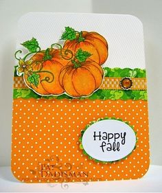 TLC445 Pumpkins by mspfd - Cards and Paper Crafts at Splitcoaststampers