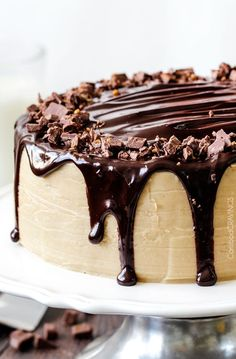 Salted Caramel Milk Chocolate Cake FoodBlogs.com