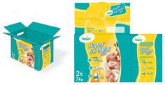 pampers box layout | Graphic Design Paper Engineering Undergraduate Thesis Graduate Thesis ...