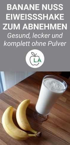 Banana Nut Protein Shake for Weight Loss and Muscle Building - Low Carb Smoot . - Banana Nut Protein Shake for Weight Loss and Muscle Building – Low Carb Smoothie Recipes – - Low Carb Protein Shakes, Homemade Protein Shakes, Healthy Protein, Muscle Protein, Healthy Shakes, Protein Recipes, Healthy Food, Law Carb, Menu Dieta