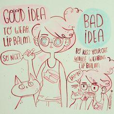 Frannerd. Chilijska ilustratorka podbija Internet kolorową i żartobliwą interpretacją codzienności.   Więcej na Moda Cafe!
