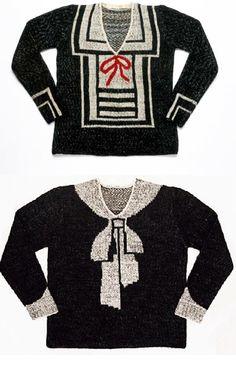 1938 Schiaparelli sweaters