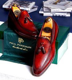 0b9b13ea354 Paul Parkman Men s Tassel Loafer Brown (ID 073-BRD)
