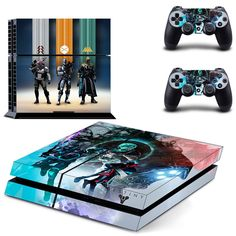 Destiny Video game ps4 skin decal for console and 2 controllers