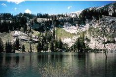 Pittsburgh Lake, American Fork Canyon. 1 1/2 miles hike.