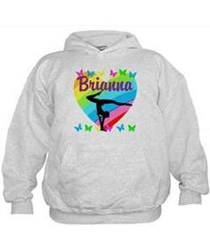 PERSONALIZE GYMNAST Hoodie Calling all Gymnasts! Personalized Gymnastics Tees and Gifts exclusively at Cafepress!  http://www.cafepress.com/sportsstar/10114301 #Gymnastics #Gymnast #WomensGymnastics #Lovegymnastics #PersonalizedGymnast