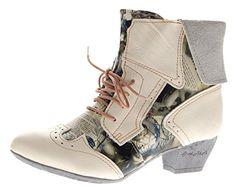 TMA Damen Stiefeletten Echtleder Comfort Boots Leder Halb Schuhe TMA 6188 Weiß Gr. 39 - http://on-line-kaufen.de/tma/39-eu-tma-damen-stiefeletten-echtleder-comfort-gr