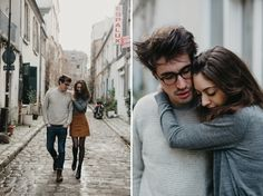 Love In Paris // Aurore+Jean // Portraits of two lovers