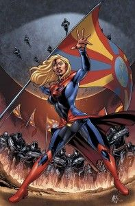 I definitely prefer the skirt over pants (the less clothes on any superhero the better) but this is cool too