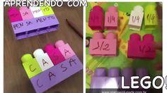 Aprendendo com Lego: Matemática e Gramática