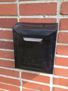 Mailbox Attached To Brick Wall