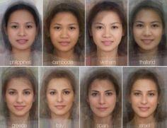 La belleza de la mujer en diferentes países. Adivina tu nacionalidad.