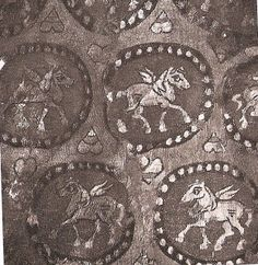 Wool textile 6th/7th C               Maestra Anya's Big Blog of Medieval Miscellany: 7th century
