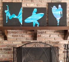 Affordable Wall Art, Throwback Thursday, Thought Provoking, Surfboard, Surfing, Abstract Art, Artwork, Summer, Instagram