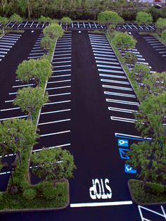 your parking lot makes your property look newer and well-maintained. Asphalt paving of driveways, tennis courts and parking lots is another area our professionals can help you with. Whether its ground up new construction or additions to existing lots. Parking Plan, Parking Space, Car Parking, Car Park Design, Parking Design, Landscape Architecture, Landscape Design, Parking Solutions, Hospital Design