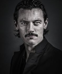 Luke Evans by Andy Gotts.