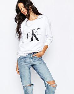 Sudadera con logo de Calvin Klein Jeans