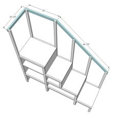 Diy Bunk Bed Plans With Stairs - WoodWorking Projects & Plans
