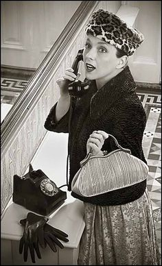 fashion photography by Norman Parkinson (1950's)