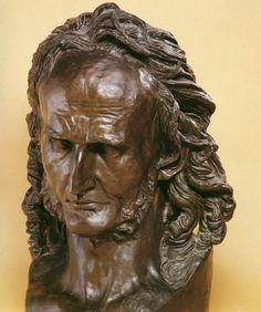 DAVID d'Angers Niccolò Paganini 1830 Bronze, 60 x 30 cm Musée des Beaux-Arts, Angers David D, European Paintings, Renaissance Art, Bronze Sculpture, All Art, Past, Artsy, Statue, History