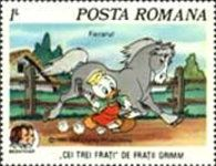 Romania stamp - Ken P's Walt Disney on Postage Stamps