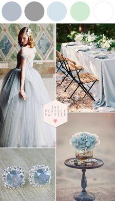 Frost Blue Wedding Inspiration