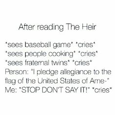 So true! Selection Series, The Selection, Book Stuff, Nerd Stuff, Kiera Cass Books, I Pledge Allegiance, Never Married, Never Grow Up, The Heirs