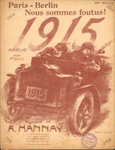 1915 Paris Berlin Cover art  Clerice freres