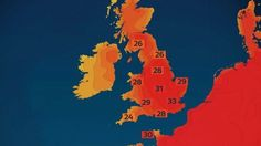 Here Comes The Heatwave August & What Will Bring Our Only Month Of Summer 2015 As Above-Average Temperatures Temperatures could reach the mid to high 20s from the north (including Scotland) to the south of the country by next weekend and into the following week + more @ http://www.exactaweather.com/uk-long-range-forecast.html