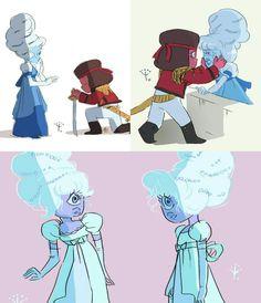 Perla Steven Universe, Steven Universe Comic, Dibujos Anime Chibi, Cartoon Network Shows, Disney Images, Universe Art, Animation, Animated Cartoons, Fnaf