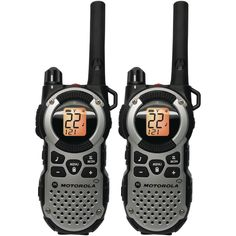 Motorola MT352R FRS Weatherproof Two-Way - 35 Mile Radio Pack - Silver * You can find more details by visiting the image link.