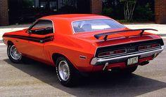 1971 dodge challenger | 1971 Dodge Challenger 426 Hemi Rear, exterior