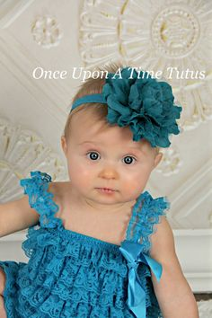 Check out this item in my Etsy shop https://www.etsy.com/listing/217079961/teal-lace-mesh-puff-headband-fabric