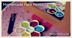 Homemade Face Paints ~ Growing A Jeweled Rose