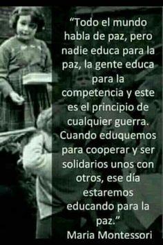 Educando para La Paz...